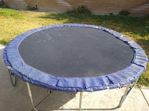 13ft trampoline must go for Sale in Corona, CA