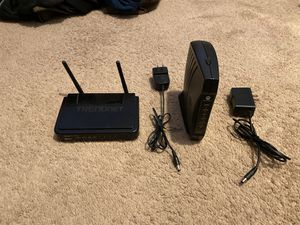 Modem and Router set for Sale in Garden Grove, CA