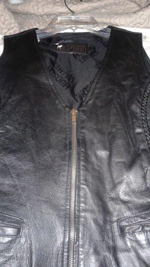 Leather vest for Sale in Sun City, AZ
