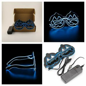 New Blue Pumpkin Light Up Led Flashing Glasses for Sale in San Angelo, TX