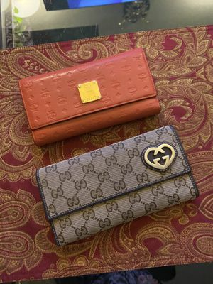 Authentic MCM and Gucci wallet for Sale in Henderson, NV