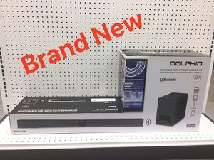 Sound bar Wireless Subwoofer Soundbar Bluetooth Speaker Barra de Sonido Audio Dolphin SNB-37S for Sale in Miami, FL