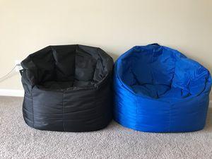 2 Big joe bean bag chairs for Sale in Daniels, MD