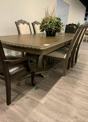 ❄❄ BRAND NEW ❄Kiera Gray Formal Dining Set for Sale in Jessup, MD