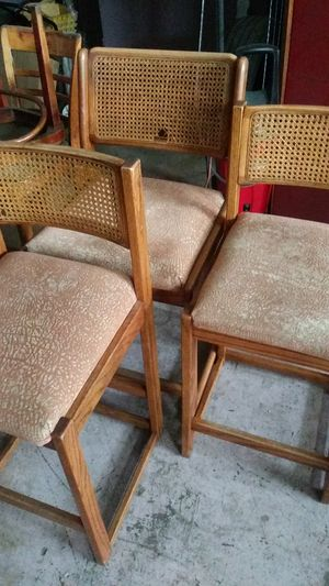 Set of 3 bar stools for Sale in Pontiac, MI