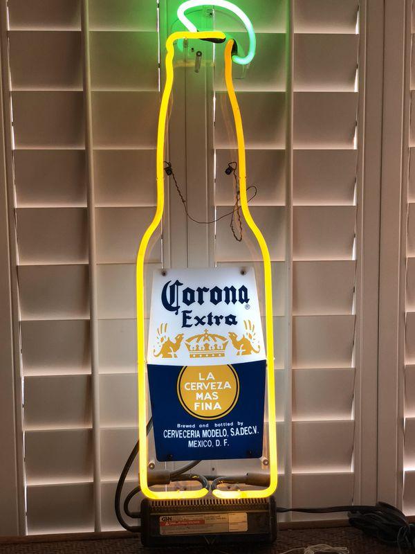 Corona Beer Neon Light