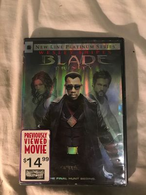 Blade Trinity dvd player *2 disc* for Sale in Pembroke Pines, FL