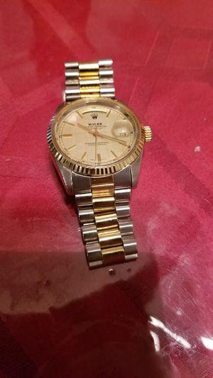 Mens classic 2 tone watch for Sale in Dallas, TX