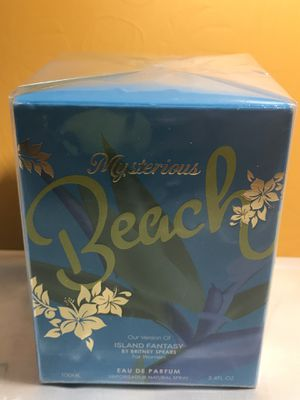 MYSTERIOUS BEACH Celebrity Impression 3.4 oz EDP Perfume by MIRAGE BRANDS for Sale in Odessa, TX