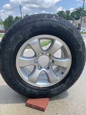 Dunlop p265/65r17 AT20 for Sale in Clarksville, TN