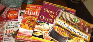 Assorted recipe books/magazine for Sale in San Benito, TX