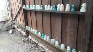 Antique vintage electrical insulators Pyrex colored glass collectible for Sale in Bay Point, CA