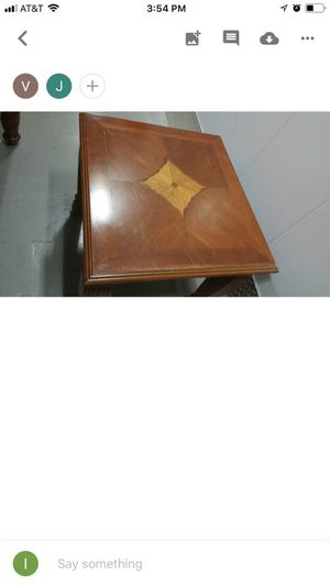 Antique solid wood end table for Sale in Seattle, WA