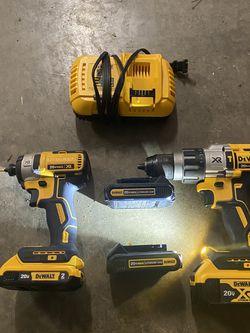 Dewalt Dcd996 Hammer Drill , Dcf887 Impact Driver Kit for Sale in Westminster,  MD