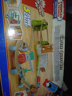 Thomas n friends quest city train set like new for Sale in Swedesboro, NJ