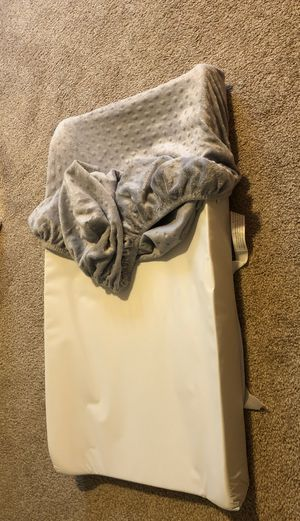 Changing Pad with 2 covers for Sale in Everett, WA