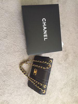 Mademoiselle vintage Chanel flap bag for Sale in Las Vegas, NV