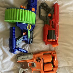 Nerf Guns BULLETS INCLUDED for Sale in Orange, CA