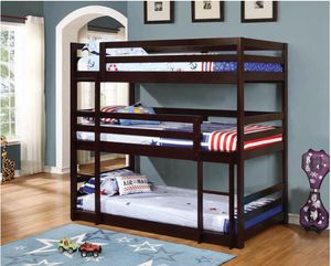 Triple Bunk Bed (Twins) for Sale in Orlando, FL