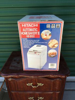 Hitatchi Bread Maker: Automatic Home BakeryII for Sale in Quartz Hill, CA
