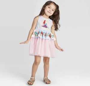 Little mermaid dress available in 4T for Sale in Los Angeles, CA