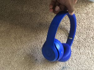 Beats solo 3 (Blue) for Sale in Erial, NJ