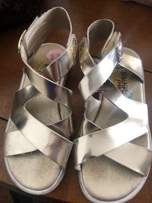 Light Gold Rachel Zoe girl shoes for Sale for sale  Henderson, NV