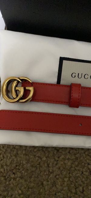 Authentic Gucci belt for Sale in Murrieta, CA