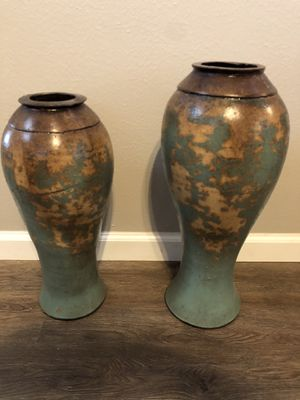 Home decor vases. for Sale in Friendswood, TX