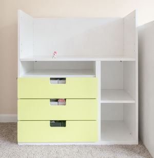 Changing table converting to kids desk for Sale in Abington, MA