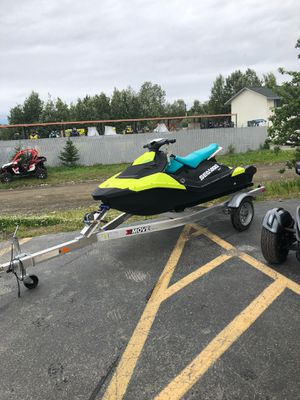 2018 seadoo sparks 3up for Sale in Big Lake, AK