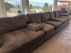 Couches 3 piece brown couches for Sale in Walnut, CA