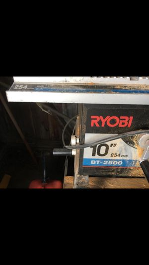 Ryobi table saw for Sale in Winchester, MA