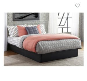 Twin DHP Maven Upholstered Platform Bed Linen Gray, just add mattress for Sale in Greenville, MS