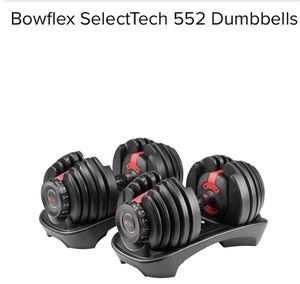 🤩🤩🤩Bowflex Select Tech552 Dumbbells🤩🤩🤩 for Sale in Pembroke Pines, FL