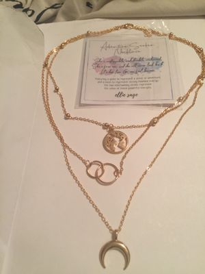 Authenic Seeker Necklace by ellie sage for Sale in Raleigh, NC