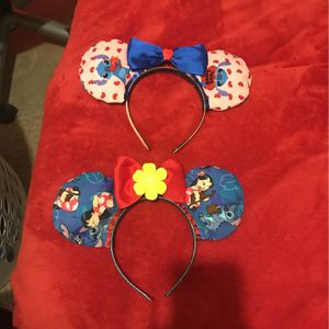 Disney Homemade Stitch Ears for Sale in Ontario, CA