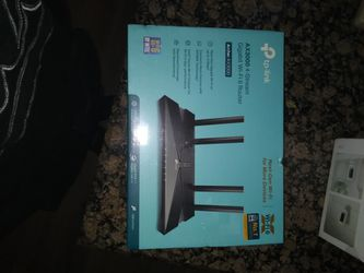 To Link Ax3000 4- Stream Wifi-6 Router for Sale in Temecula,  CA