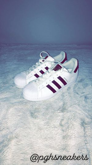 Adidas Superstar Casual Shoes (Size Women's 9.5) for Sale in Hampton Township, PA