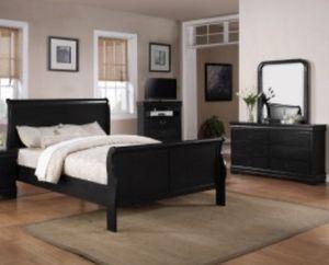 Black bedroom set for Sale in Ellicott City, MD