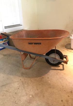 Large wheel barrel – 6 cubic ft for Sale in Ashburn, VA