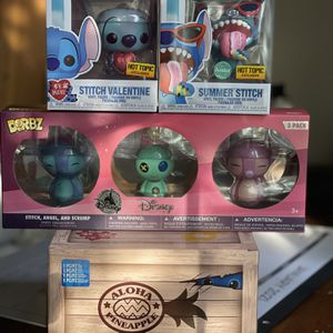 Collections Of limited Edition Stitch Funko Pops for Sale in Los Angeles, CA