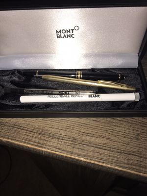 Mont Blanc pen set for Sale in Houston, TX
