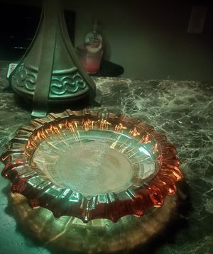 Vintage Amber Glass Ashtray for Sale in Phoenix, AZ