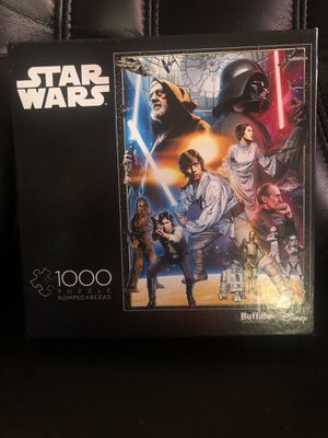 STAR WARS 1000 PIECE PUZZLE BY BUFFALO GAMES DISNEY JIGSAW PUZZLE for Sale in Hayward, CA