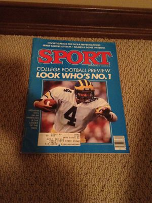 Sport magazine for Sale in Sioux Falls, SD