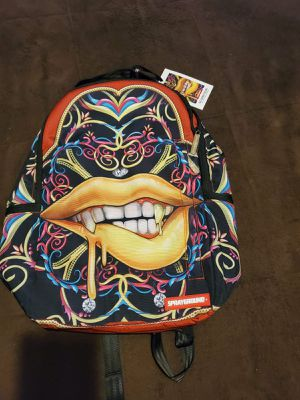 SPRAYGROUND BOUJEE GRILLZ DELUXE BACKPACK LIMITED EDITION for Sale in Miami, FL