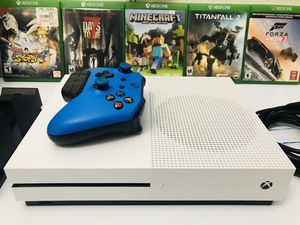 BRAND NEW XBOX ONE S WITH ALL ACCESSORIES AND GAMES , CONTROLLER AND CHARGING STATION! USED ONLY COUPLE TIMES ! 5 GAMES INCLUDED! Price is $190. FIRM! for Sale in Sacramento, CA