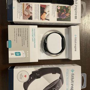 Fitbit inspire HR with Black band and Two extra bands for Sale in Bethel, CT