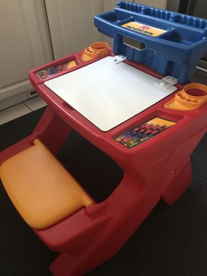 Kids desk- Plastic Step 2 for Sale in Norton, MA